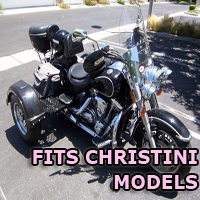 Outlaw Series Motorcycle Trike Kit - Fits All Christini Models