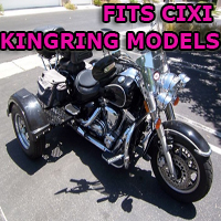 Outlaw Series Motorcycle Trike Kit - Fits All Cixi Kingring Models