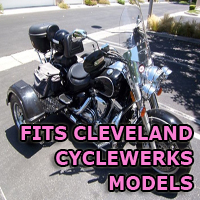 Outlaw Series Motorcycle Trike Kit - Fits All Cleveland Cyclewerks Models