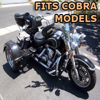 Outlaw Series Motorcycle Trike Kit - Fits All Cobra Models