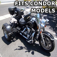 Outlaw Series Motorcycle Trike Kit - Fits All Condor Models