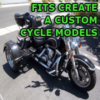 Outlaw Series Motorcycle Trike Kit - Fits All Create A Custom Cycle Models