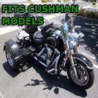 Outlaw Series Motorcycle Trike Kit - Fits All Cushman Models