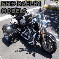 Outlaw Series Motorcycle Trike Kit - Fits All Daelim Models