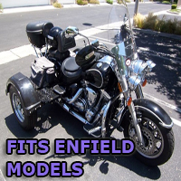 Outlaw Series Motorcycle Trike Kit - Fits All Enfield Models