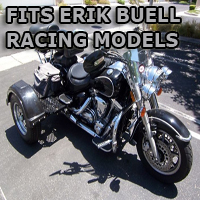Outlaw Series Motorcycle Trike Kit - Fits All Erik Buell Racing Models