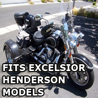 Outlaw Series Motorcycle Trike Kit - Fits All Excelsior-Henderson Models