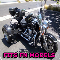 Outlaw Series Motorcycle Trike Kit - Fits All FN Models