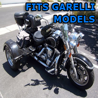 Outlaw Series Motorcycle Trike Kit - Fits All Garelli Models