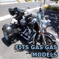 Outlaw Series Motorcycle Trike Kit - Fits All Gas Gas Models