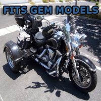 Outlaw Series Motorcycle Trike Kit - Fits All Gem Models