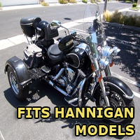 Outlaw Series Motorcycle Trike Kit - Fits All Hannigan Models