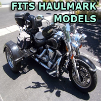 Outlaw Series Motorcycle Trike Kit - Fits All Haulmark Models