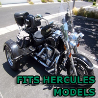 Outlaw Series Motorcycle Trike Kit - Fits All Hercules Models