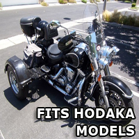 Outlaw Series Motorcycle Trike Kit - Fits All Hodaka Models