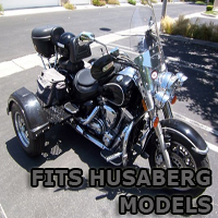Outlaw Series Motorcycle Trike Kit - Fits All Husaberg Models