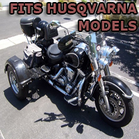 Outlaw Series Motorcycle Trike Kit - Fits All Husqvarna Models