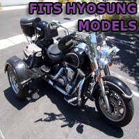 Outlaw Series Motorcycle Trike Kit - Fits All Hyosung Models