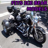 Outlaw Series Motorcycle Trike Kit - Fits All Ice Bear Models