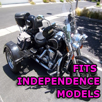 Outlaw Series Motorcycle Trike Kit - Fits All Independence Models