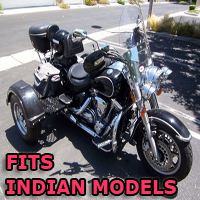 Outlaw Series Motorcycle Trike Kit - Fits All Indian Models