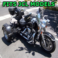 Outlaw Series Motorcycle Trike Kit - Fits All JCL Models