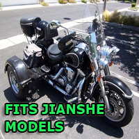 Outlaw Series Motorcycle Trike Kit - Fits All Jianshe Models