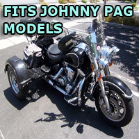 Outlaw Series Motorcycle Trike Kit - Fits All Johnny Pag Models