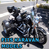 Outlaw Series Motorcycle Trike Kit - Fits All Karavan Models