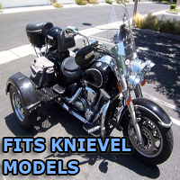 Outlaw Series Motorcycle Trike Kit - Fits All Knievel Models