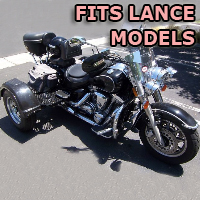 Outlaw Series Motorcycle Trike Kit - Fits All Lance Models