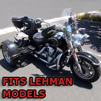 Outlaw Series Motorcycle Trike Kit - Fits All Lehman Models