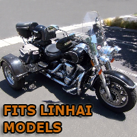 Outlaw Series Motorcycle Trike Kit - Fits All Linhai Models