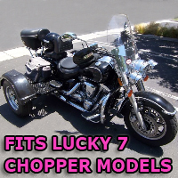 Outlaw Series Motorcycle Trike Kit - Fits All Lucky 7 Models