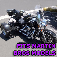 Outlaw Series Motorcycle Trike Kit - Fits All Martin Bros Models