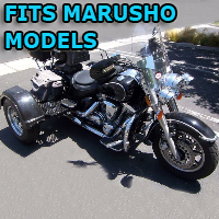 Outlaw Series Motorcycle Trike Kit - Fits All Marusho Models