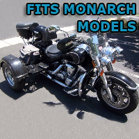 Outlaw Series Motorcycle Trike Kit - Fits All Monarch Models
