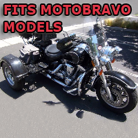 Outlaw Series Motorcycle Trike Kit - Fits All Motobravo Models
