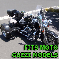 Outlaw Series Motorcycle Trike Kit - Fits All Moto Guzzi Models