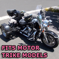 Outlaw Series Motorcycle Trike Kit - Fits All Motor Trike Models