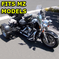 Outlaw Series Motorcycle Trike Kit - Fits All MZ Models