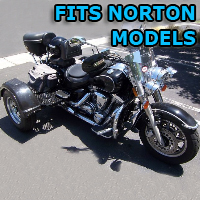 Outlaw Series Motorcycle Trike Kit - Fits All Norton Models