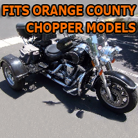 Outlaw Series Motorcycle Trike Kit - Fits All Orange County Chopper Models
