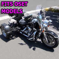 Outlaw Series Motorcycle Trike Kit - Fits All Oset Models