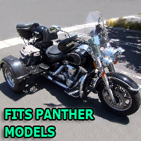 Outlaw Series Motorcycle Trike Kit - Fits All Panther Models