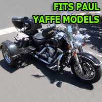 Outlaw Series Motorcycle Trike Kit - Fits All Paul Yaffe Models