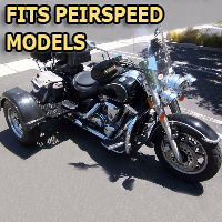 Outlaw Series Motorcycle Trike Kit - Fits All Peirspeed Models