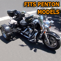 Outlaw Series Motorcycle Trike Kit - Fits All Penton Models