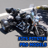 Outlaw Series Motorcycle Trike Kit - Fits All Pitster Pro Models
