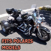 Outlaw Series Motorcycle Trike Kit - Fits All Polaris Models